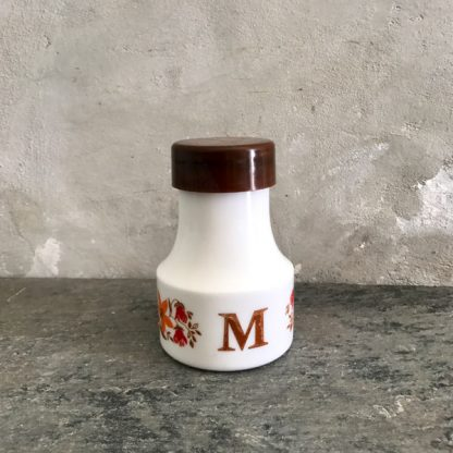 Pot à moutarde Arcopal vintage
