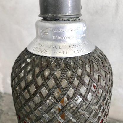 "Siphon magnum vintage ""Sparklets London"""