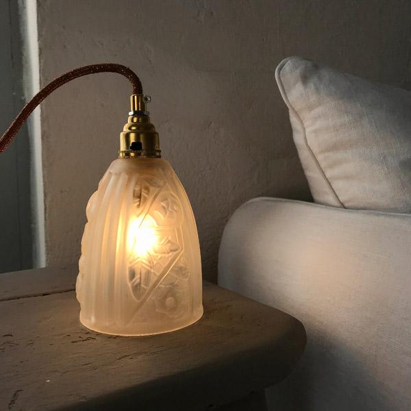 Lampe Tulipe Art Deco 3 Brocante Et Deco Chic