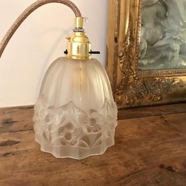 Lampe Tulipe Art Deco 2 Brocante Et Deco Chic