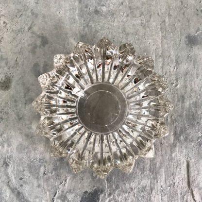 Cendrier en cristal Art Déco signé Pierre d'Avesn
