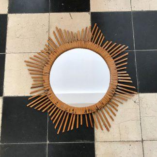miroir-soleil-rotin-vintage-1