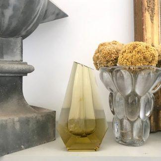 vase-murano-facettes-jaune-dore-1