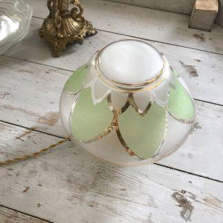 lampe-globe-art-deco-vert-dore-1