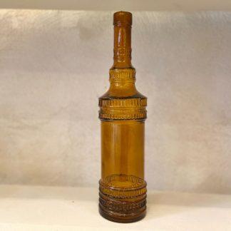 ancienne-bouteille-verre-marron-1
