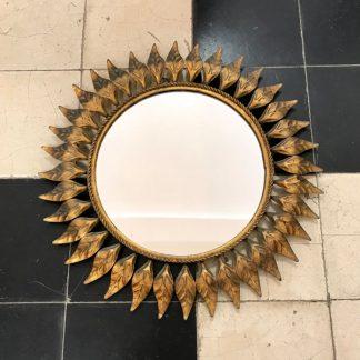 miroir-feuilles-dore-metal-rond-1