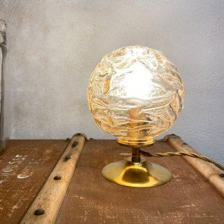 lampe-globe-verre-ambre-1