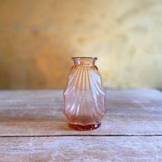 petit-vase-verre-rose-art-deco-1