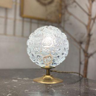 lampe-globe-fleurs-verre-moule-1