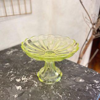 coupe-pied-verre-moule-uranium-jaune-1